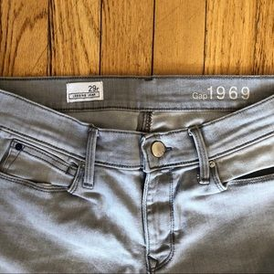Gap grey legging jean